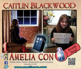 Amelia Pond to appear at Amelia Con in Florida, USA!